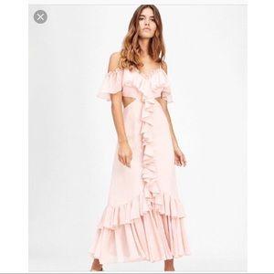 Jill Stuart cutout gown